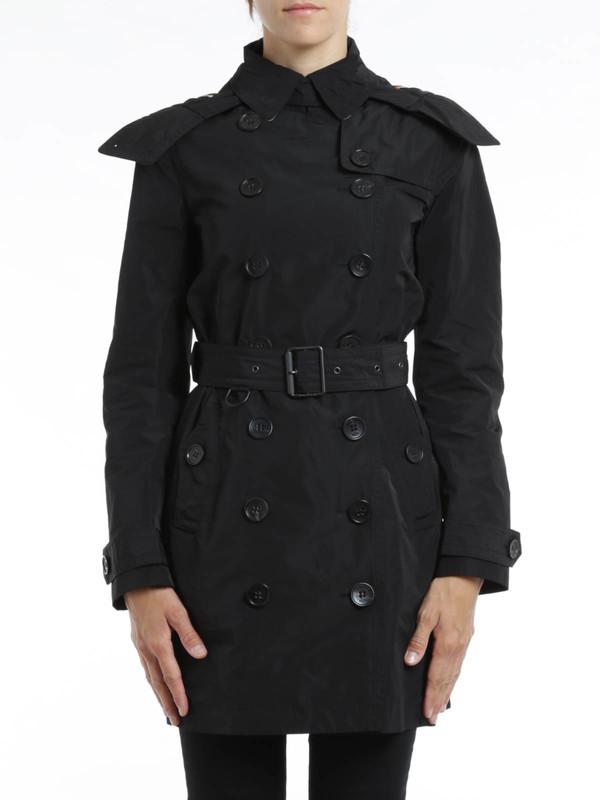 iKRIX Burberry Brit: Trenchcoats - Trenchcoat Fur Damen - Schwarz