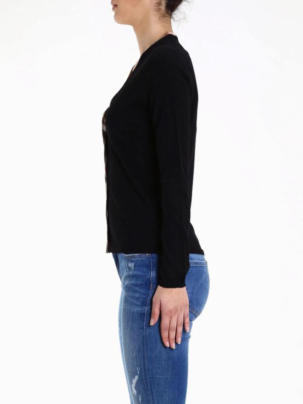 iKRIX Burberry: Merino wool cardigan