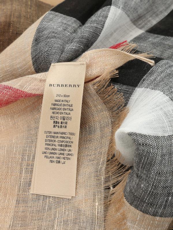 iKRIX Burberry: Bufandas y pañuelos - Bufanda Beis Para Unisex