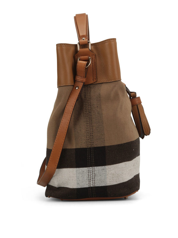 iKRIX Burberry: shoulder bags - Susanna Canvas Check hobo bag