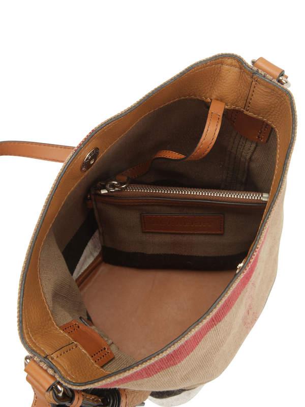 iKRIX Burberry: Susanna Canvas Check bag