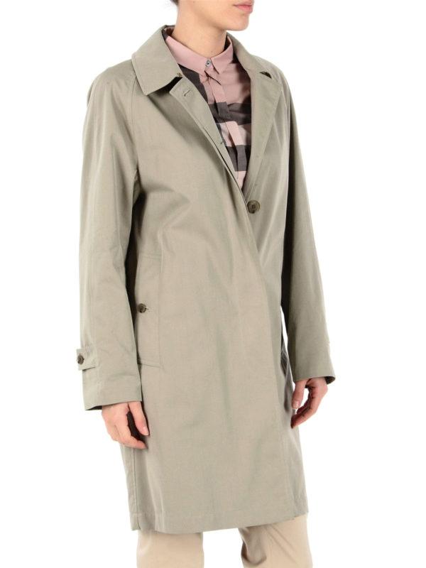 iKRIX BURBERRY: trench coats - The Camden beige car coat