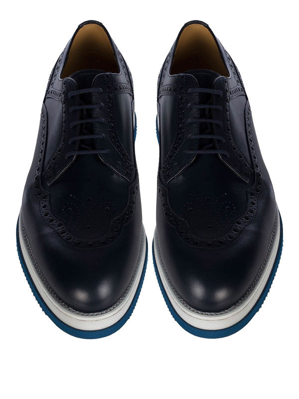 iKRIX Cesare Paciotti: lace-ups shoes - Mix brogues
