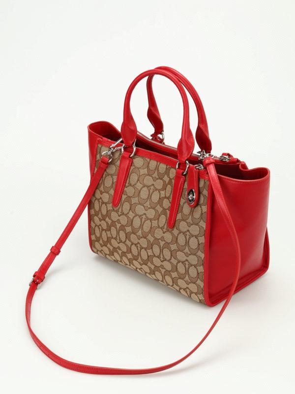 iKRIX Coach: Handtaschen - Shopper - Rot