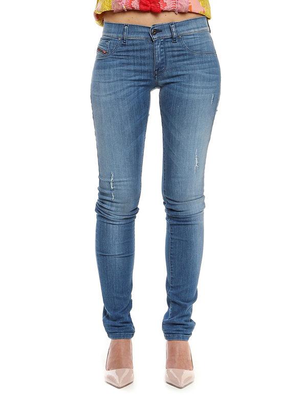 iKRIX Diesel: Skinny Jeans - Skinny Jeans Fur Damen - Denim