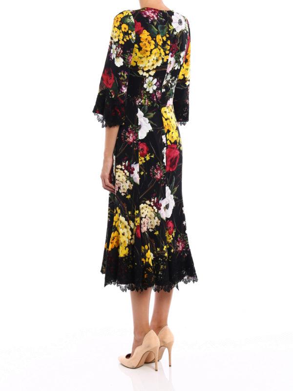 iKRIX Dolce & Gabbana: cocktail dresses - Lace detailed floral silk dress