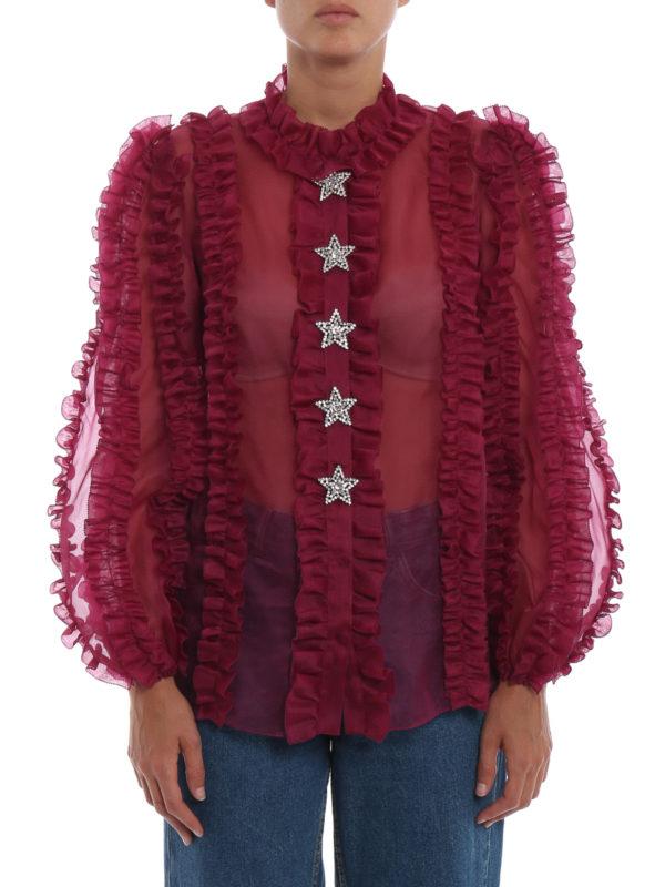 iKRIX DOLCE & GABBANA: Hemden - Hemd - Bordeaux