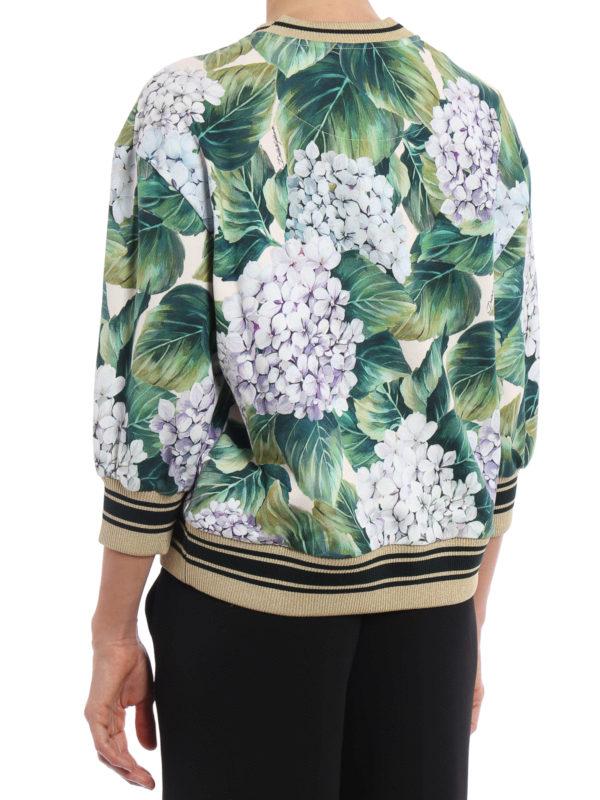 iKRIX Dolce & Gabbana: Sweatshirts und Pullover - Sweatshirt - Grün