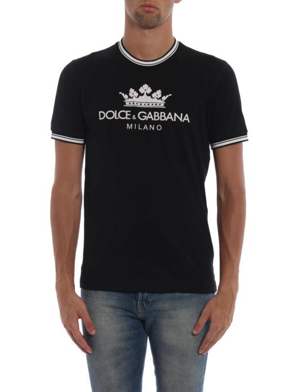 iKRIX DOLCE & GABBANA: T-shirts - T-Shirt - Schwarz