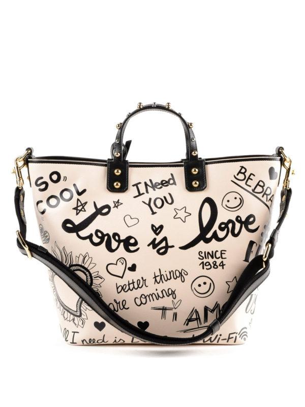iKRIX DOLCE & GABBANA: Handtaschen - Shopper - Weiß