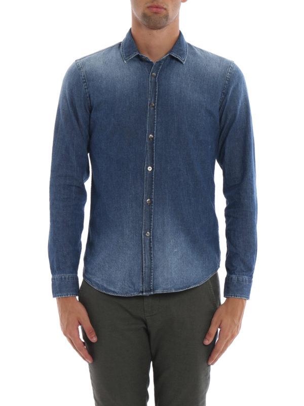 iKRIX DONDUP: Hemden - Hemd - Jeansblau