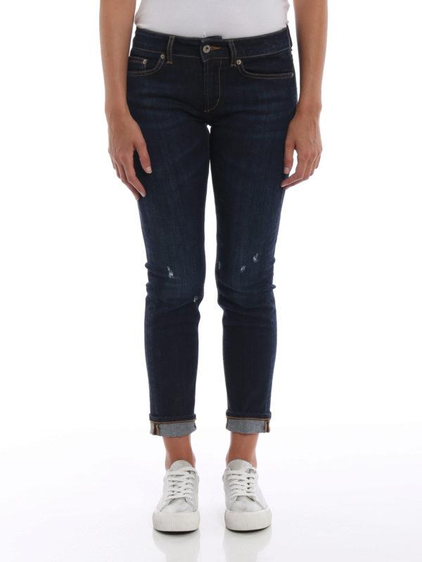 iKRIX DONDUP: Skinny Jeans - Skinny Jeans - Dunkles Jeansblau
