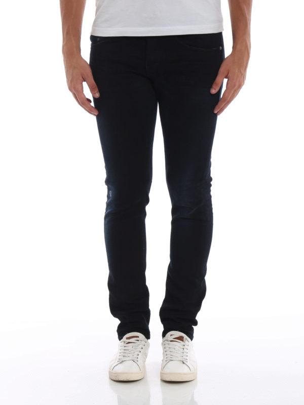 iKRIX DONDUP: Straight Leg Jeans - George - Dunkles Jeansblau