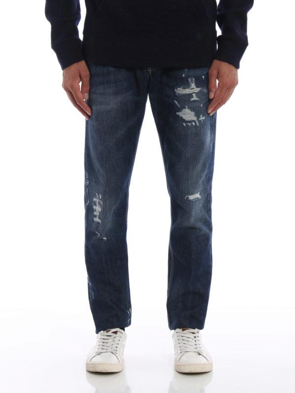 iKRIX DONDUP: Straight Leg Jeans - Mius - Dunkles Jeansblau