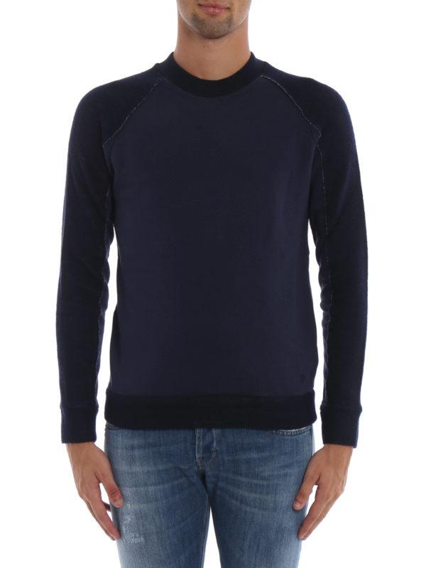 iKRIX DONDUP: Sweatshirts und Pullover - Sweatshirt - Dunkelblau
