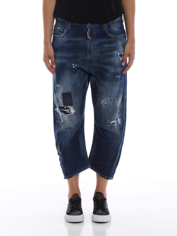 iKRIX DSQUARED2: Boyfriend - Boyfriend Jeans - Jeansblau