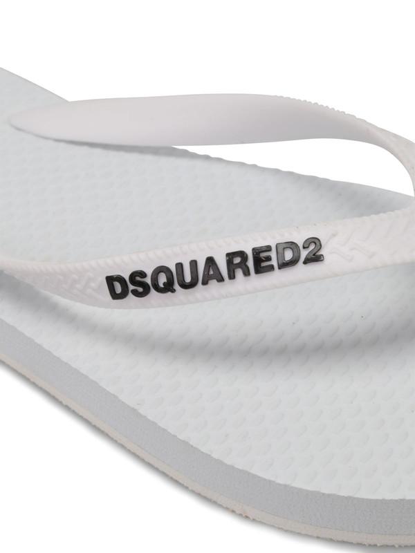 iKRIX Dsquared2: Rubber flip flops