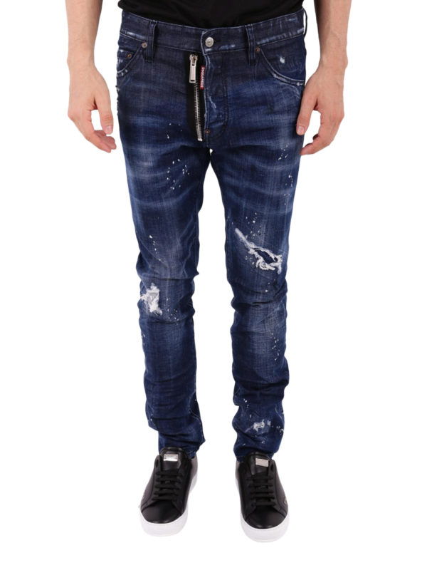 iKRIX DSQUARED2: Straight Leg Jeans - Cool Guy - Dunkles Jeansblau
