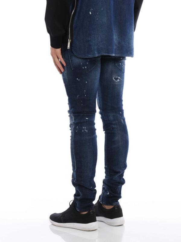 iKRIX DSQUARED2: Straight Leg Jeans - Straight Leg Jeans - Dark Wash