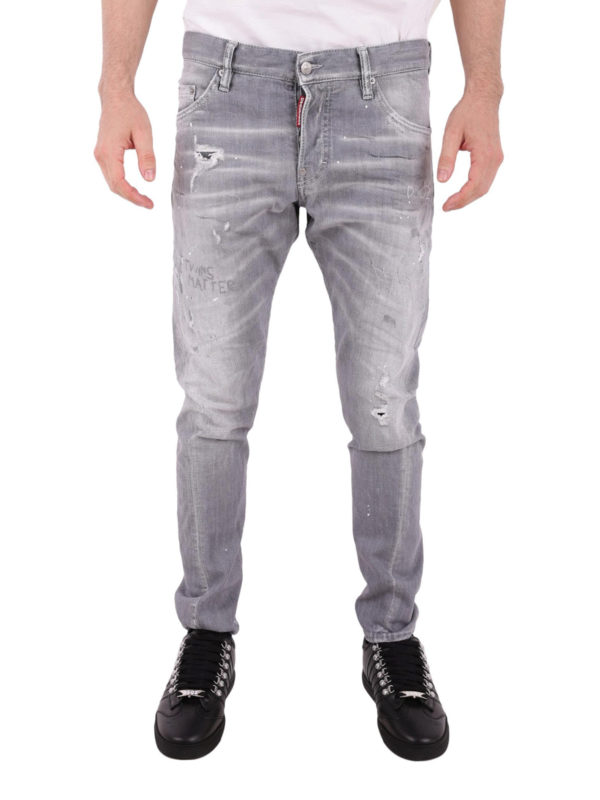 iKRIX DSQUARED2: Straight Leg Jeans - Straight Leg Jeans - Grau