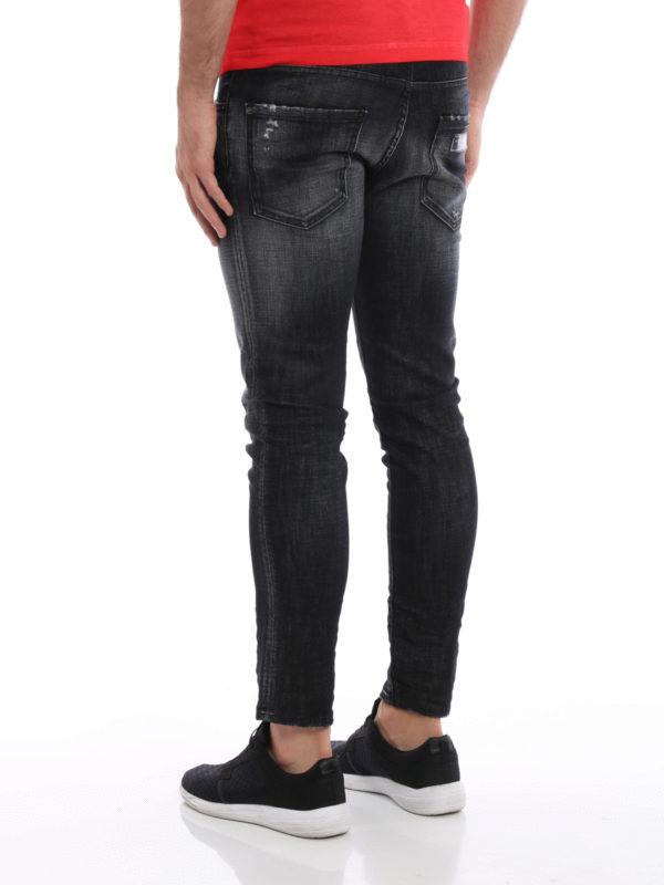 iKRIX Dsquared2: Straight Leg Jeans - Straight Leg Jeans - Schwarz