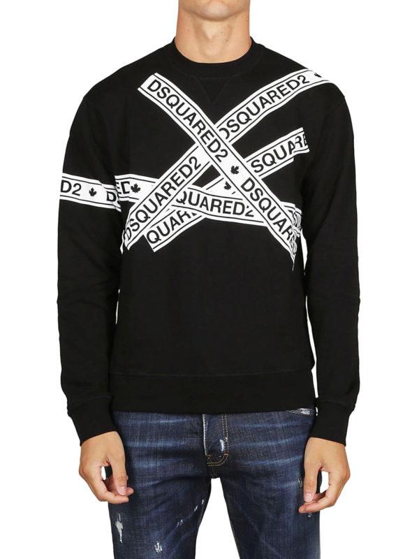 iKRIX DSQUARED2: Sweatshirts und Pullover - Sweatshirt - Schwarz