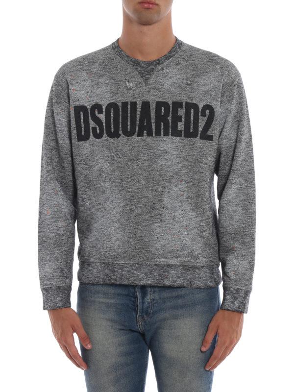 iKRIX DSQUARED2: Sweatshirts und Pullover - Sweatshirt - Grau