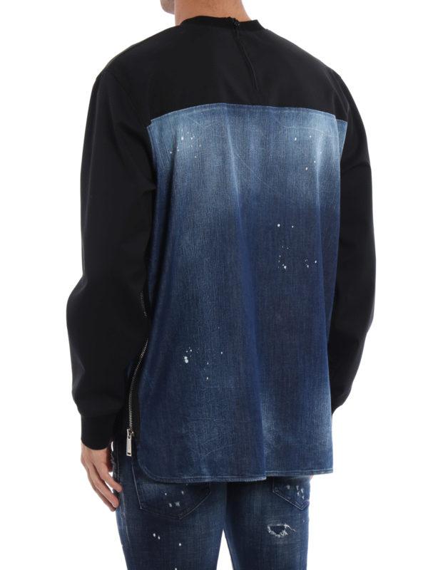 iKRIX DSQUARED2: Sweatshirts und Pullover - Sweatshirt - Gemustert