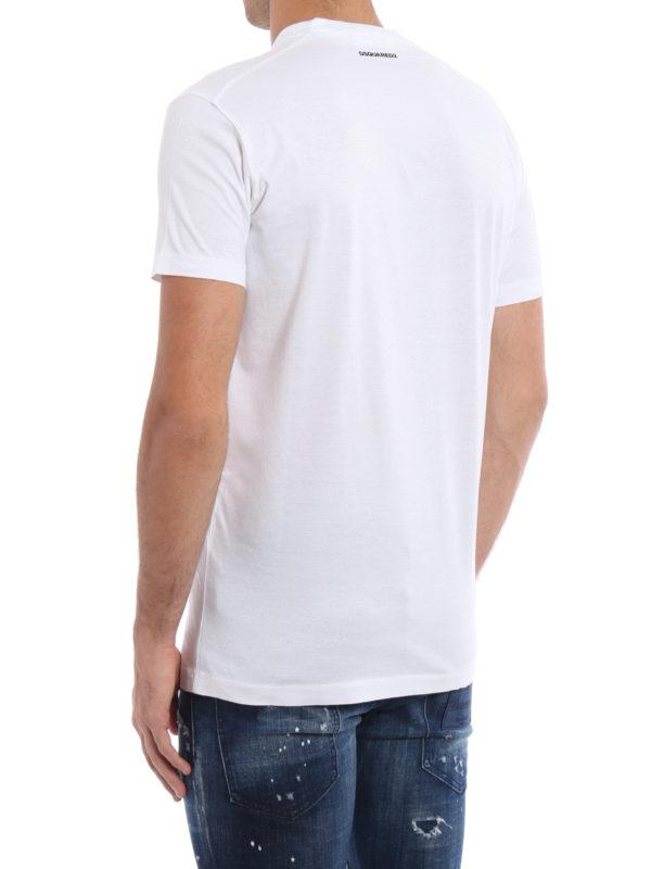 iKRIX Dsquared2: T-shirts - T-Shirt - Gemustert