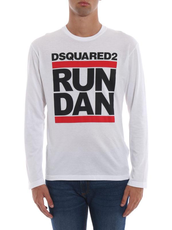 iKRIX DSQUARED2: T-shirts - T-Shirt - Weiß