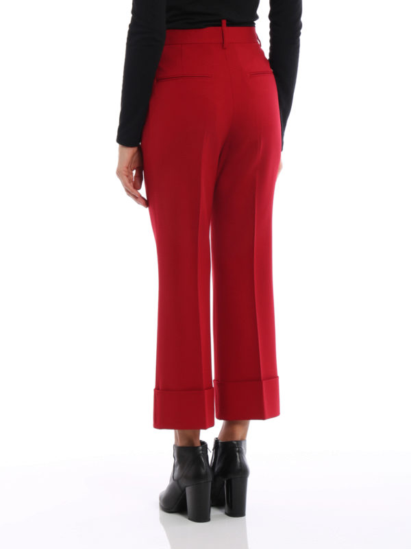 iKRIX DSQUARED2: Maßgeschneiderte und Formale Hosen - Formale Hose - Rot