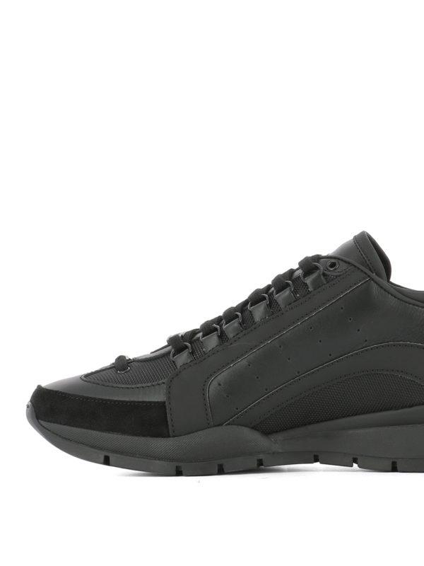 iKRIX DSQUARED2: Sneaker - Sneaker - Schwarz