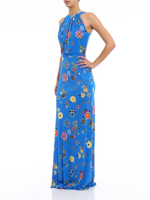 iKRIX Emilio Pucci: maxi dresses - Floral print maxi dress