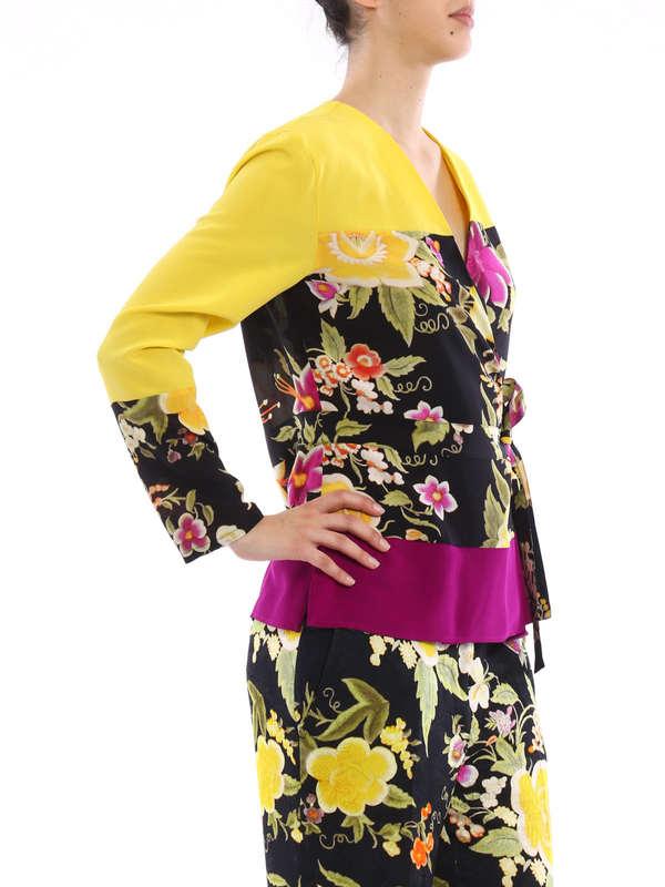 iKRIX Etro: blouses - Tie silk blouse