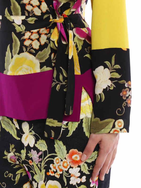 iKRIX Etro: Tie silk blouse