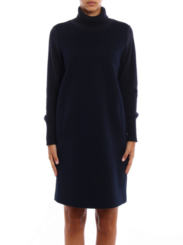 iKRIX Fabiana Filippi: knee length dresses - Scuba dress with knitted details