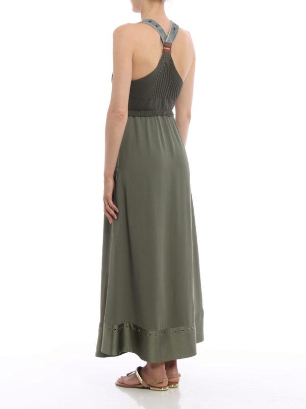 Fay Sleeveless Combo Dress Maxi Dresses