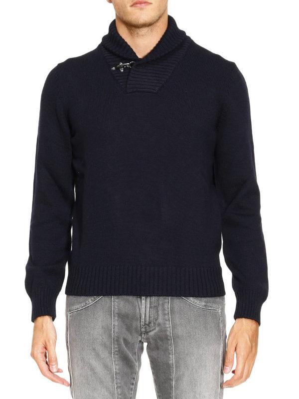 iKRIX FAY: Turtlenecks & Polo necks - Ribbed collar wool sweater