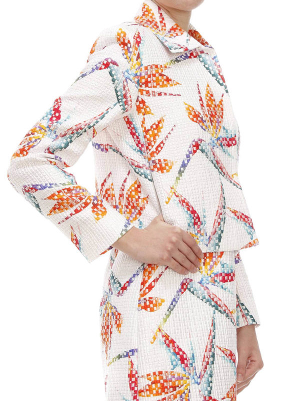 iKRIX Fendi: blazers - Bird of Paradise print jacket