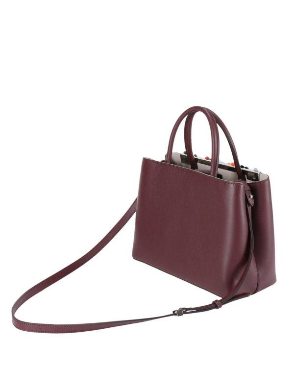 iKRIX Fendi: Handtaschen - Shopper - Dunkelrot