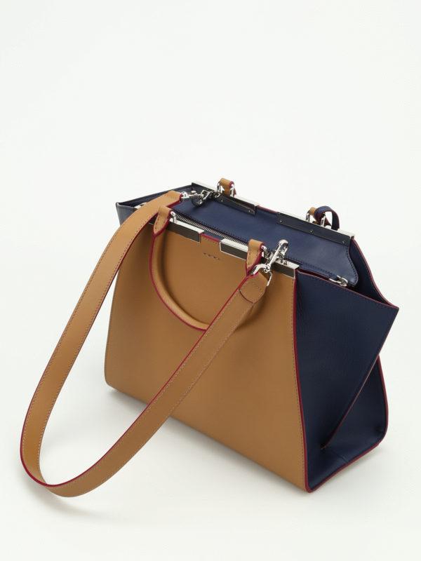 iKRIX Fendi: Handtaschen - Shopper - Dunkelbeige