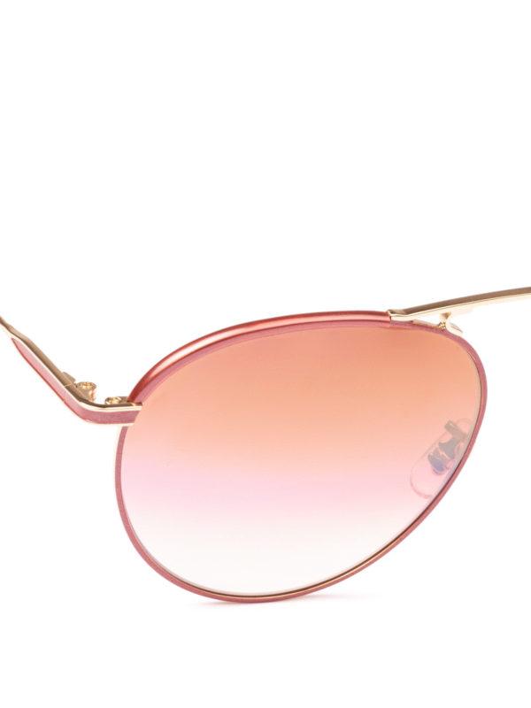 iKRIX GARRETT LEIGHT: Sonnenbrillen - Sonnenbrille - Dunkelrosa