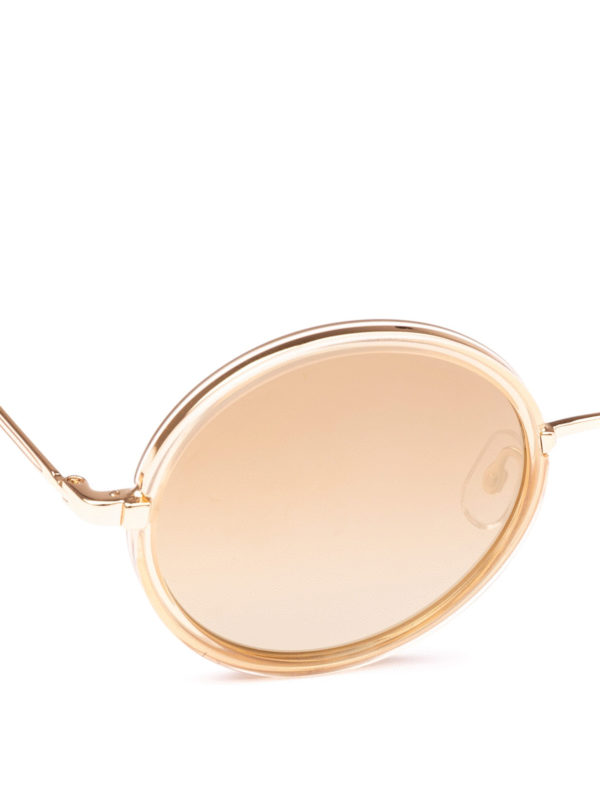 iKRIX GARRETT LEIGHT: Sonnenbrillen - Sonnenbrille - Gold