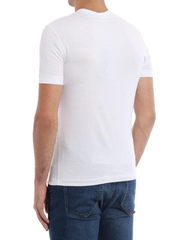 iKRIX GIORGIO ARMANI: T-shirts - T-Shirt - Einfarbig