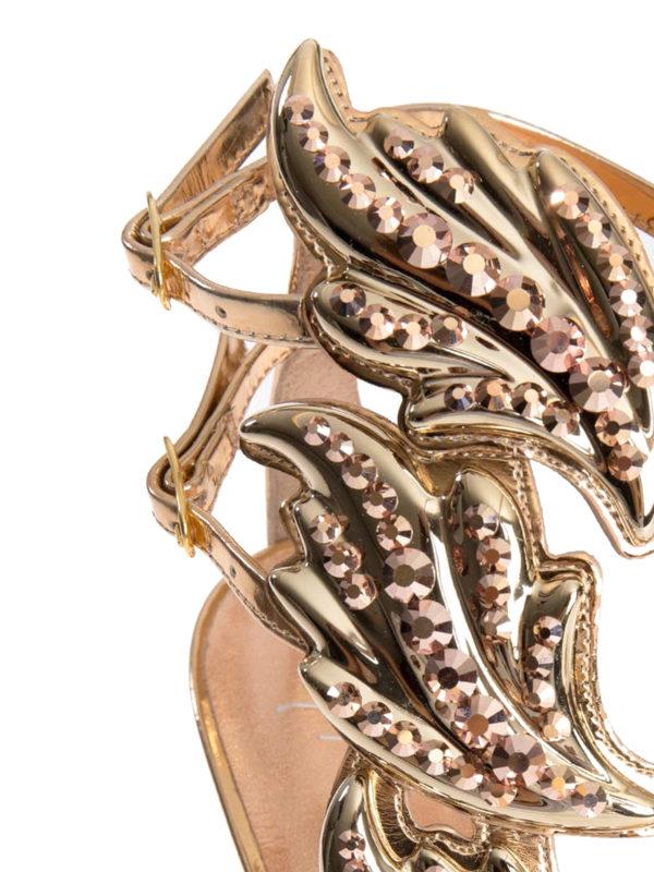 iKRIX Giuseppe Zanotti: Sandalen - Sandalen - Gold