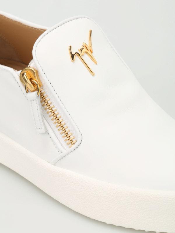iKRIX Giuseppe Zanotti: Sneaker - Sneaker - Weiß
