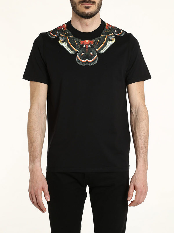 Butterfly and star printed t shirt by givenchy t shirts for Givenchy t shirts for sale