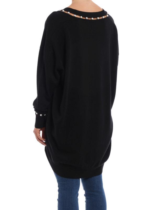 iKRIX Givenchy: Strickpullover mit V-Ausschnitt - V-Pullover - Over