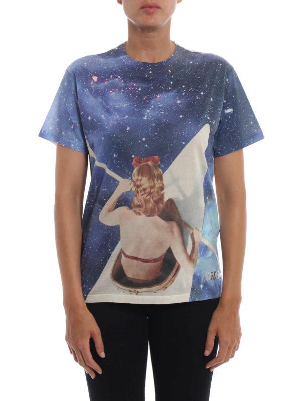 iKRIX GOLDEN GOOSE: T-shirts - T-Shirt - Hellblau