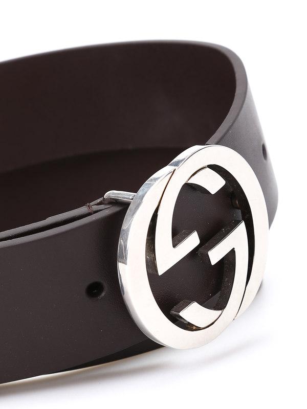 iKRIX Gucci: belts - Belt with double G bucke